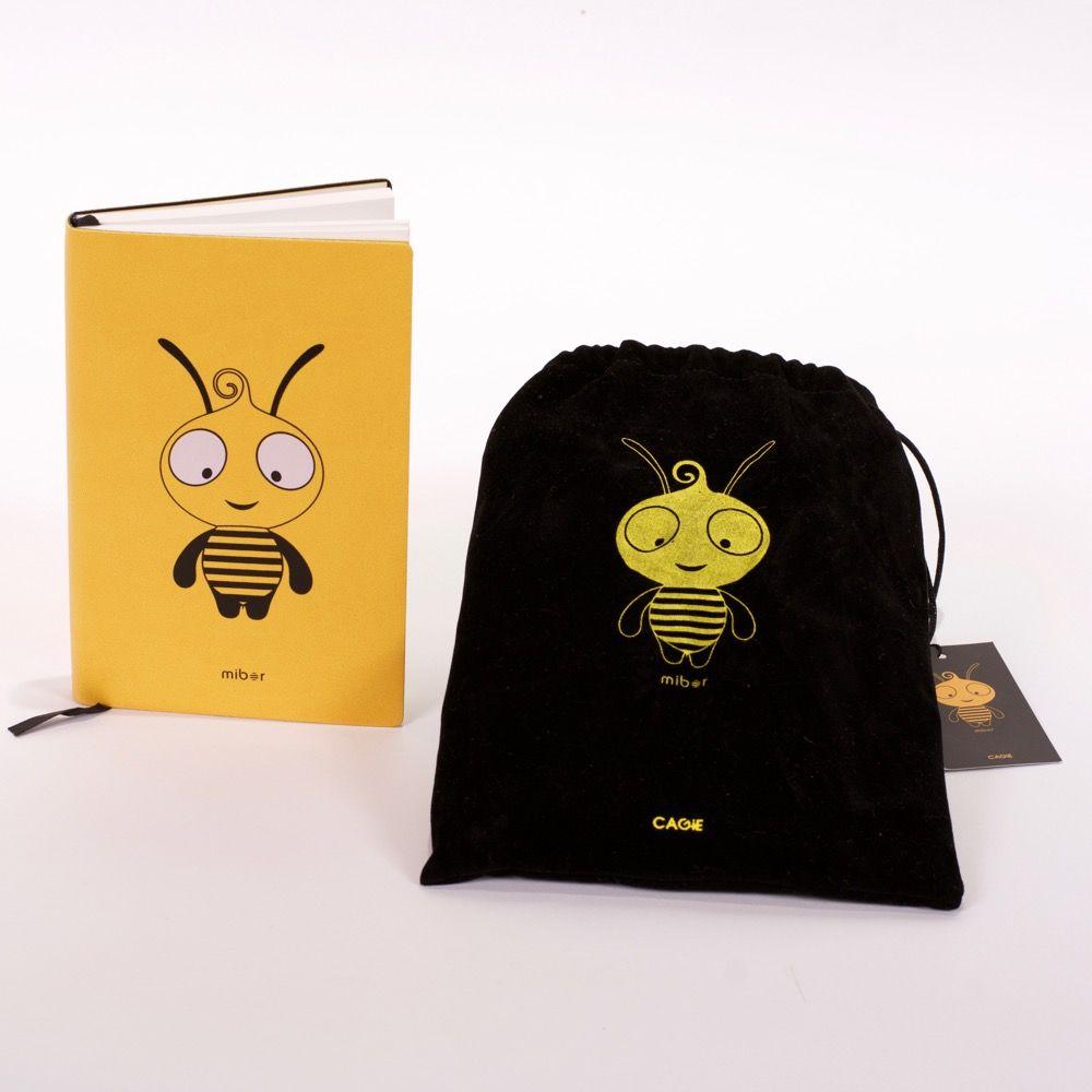 Block de notas abeja