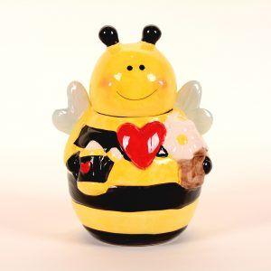 Tarro ceramica abeja
