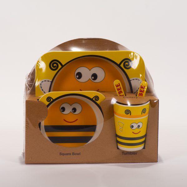Vajilla abeja amarilla