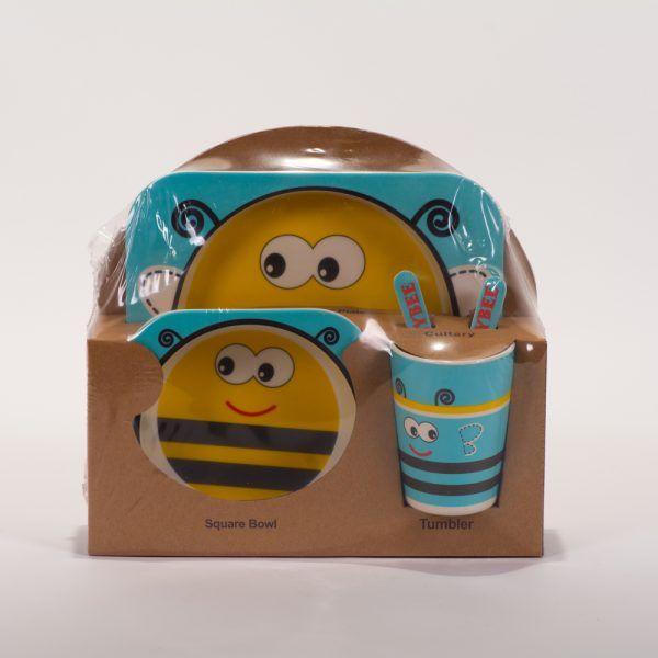 Vajilla abeja azul